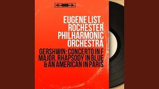 Piano Concerto in F Major: I. Allegro
