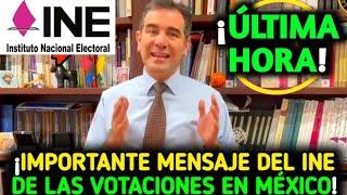 """🔴Importante Mensaje Del """"Presidente Del INE"""" Lorenzo Córdoba De Votaciones @BETO ALFA NOTICIAS"""