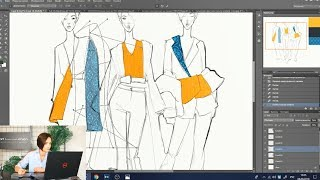 Курс по Photoshop для дизайнера одежды