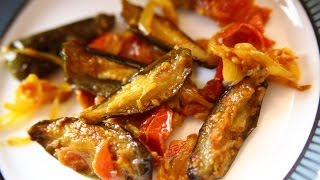 How To Make Chatpata Baingan (Tangy Brinjal) By Gitika