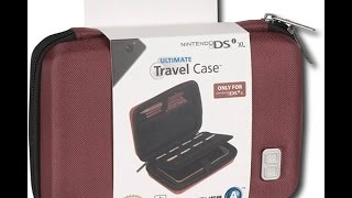 BEST Cases for Nintendo DS/3DS/3DS XL - Pull n Go Folio and Ultimate DSI case REVIEW!