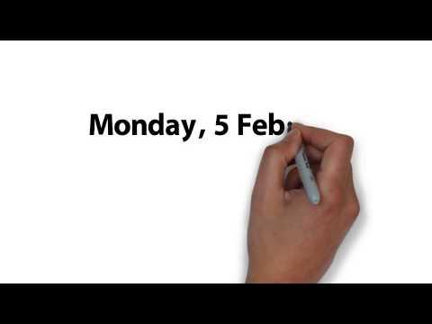 The Week Ahead - starting 5 February 2018