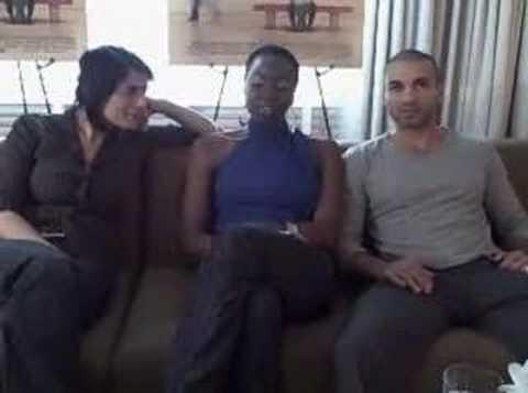 Hiam Abbass, Danai Gurira, and Haaz Sleiman