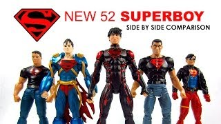 DC Collectibles Superboy New 52 Teen Titans Side by Side Comparison