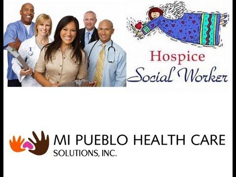 Hospice Social Worker Visit