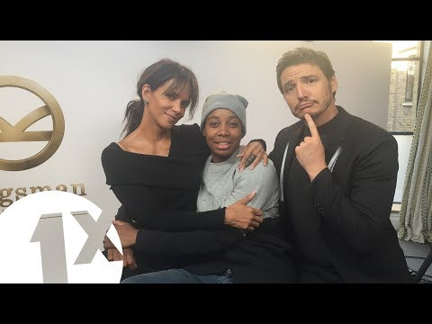 Download Youtube: A.Dot meets Halle Berry and Pedro Pascal