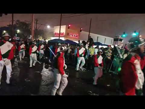 George Washington Carver High School Marching Band Jumpstart Bacchus Parade 2018