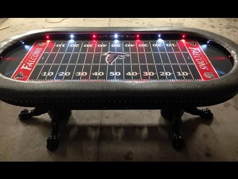Custom Poker Tables with a Sports Theme 1 YouTube