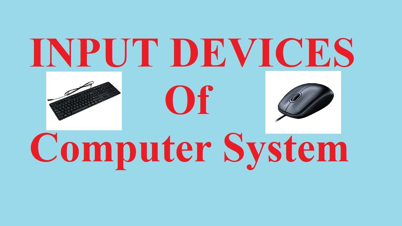 Input Devices Of Computer System With Examples Keyboard Mouse Scanner Micr Ocr Digital Camera Youtube