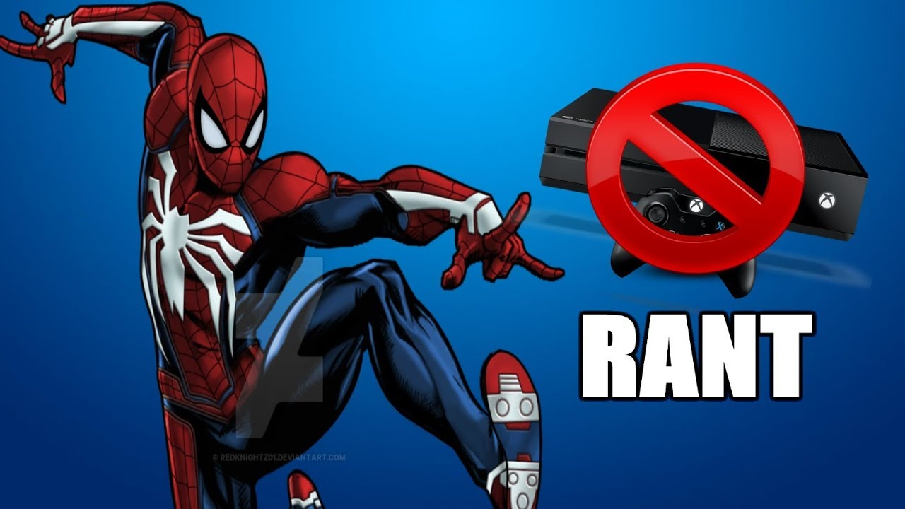 """spider-man ps4"""" continues to trigger xbox one fanboys rant - youtube"""