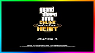 GTA 5 Online The Cayo Perico Heist DLC Update - NEW DETAILS! Release Date, BIG Map Expansion & MORE!