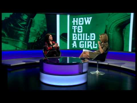 Caitlin Moran explores taboo subjects in her new book 'How to build a girl'- Newsnight