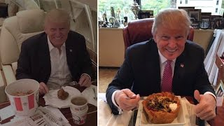 Donald Trump's Love of Beef and Fast Food Raises Health Concerns