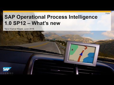 What's New With SAP Operational Process Intelligence 1 0 SP12