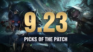 10 Picks of the Patch in 9.23 for Solo Queue