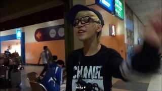 140101 Laid Back leaving Malaysia