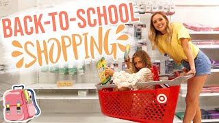 Back-to-School Supply Shopping 2019 w/ Kalista Elaine
