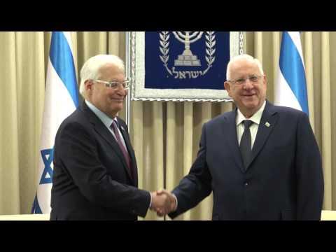 President Rivlin receives new US Ambassador Friedman