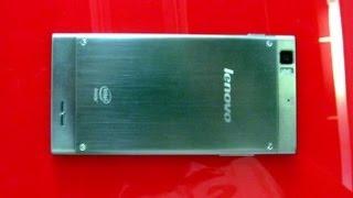 lenovo IdeaPhone K900 - мощный Intel-смартфон - видео обзор