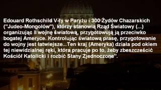 WATYKAN PRZECIWKO NWO - Nowemu Porządkowi Świata.wmv
