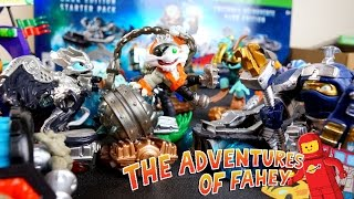 Toy Time Plays With Skylanders Superchargers Figures