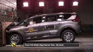 #25 Crash Test of Renault Espace 2015 Краш тест Рено еспейс 2015