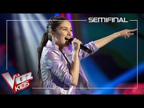 Irene Gil Canta 'Joyful Joyful'   Semifinal   La Voz Kids Antena 3 2019