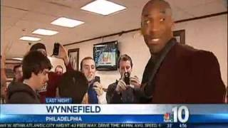 Kobe Feels At Home At Philly Cheesesteak Shop