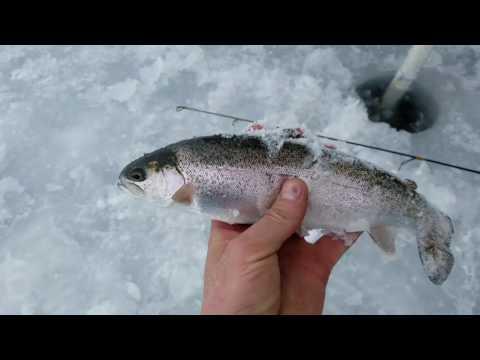 ICE FISHING EAST CANYON RESERVOIR