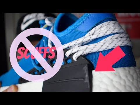 HOW TO GET RID OF SCUFFS ON HUMAN RACE NMD/YEEZY V2