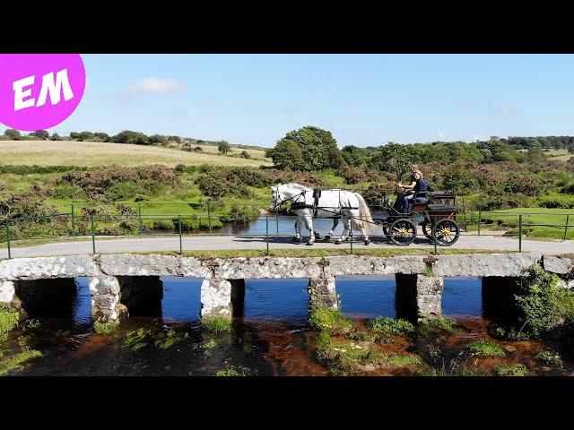 Over the bridge - Under the bridge! Moorland Driving Adventure