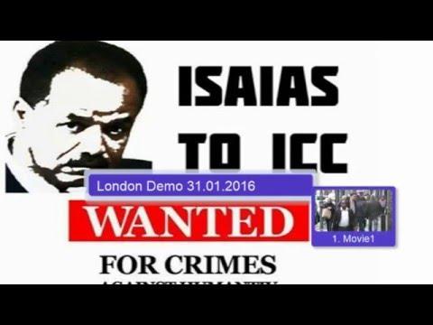 2016 01 31 London Demo by Eritrean justice seekers