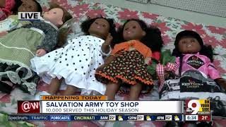 Salvation Army Toy Shop Makes Sure Low-income Kids Have A Great Christmas