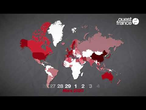 Comment s'est propagée l'épidémie de coronavirus dans le monde ?