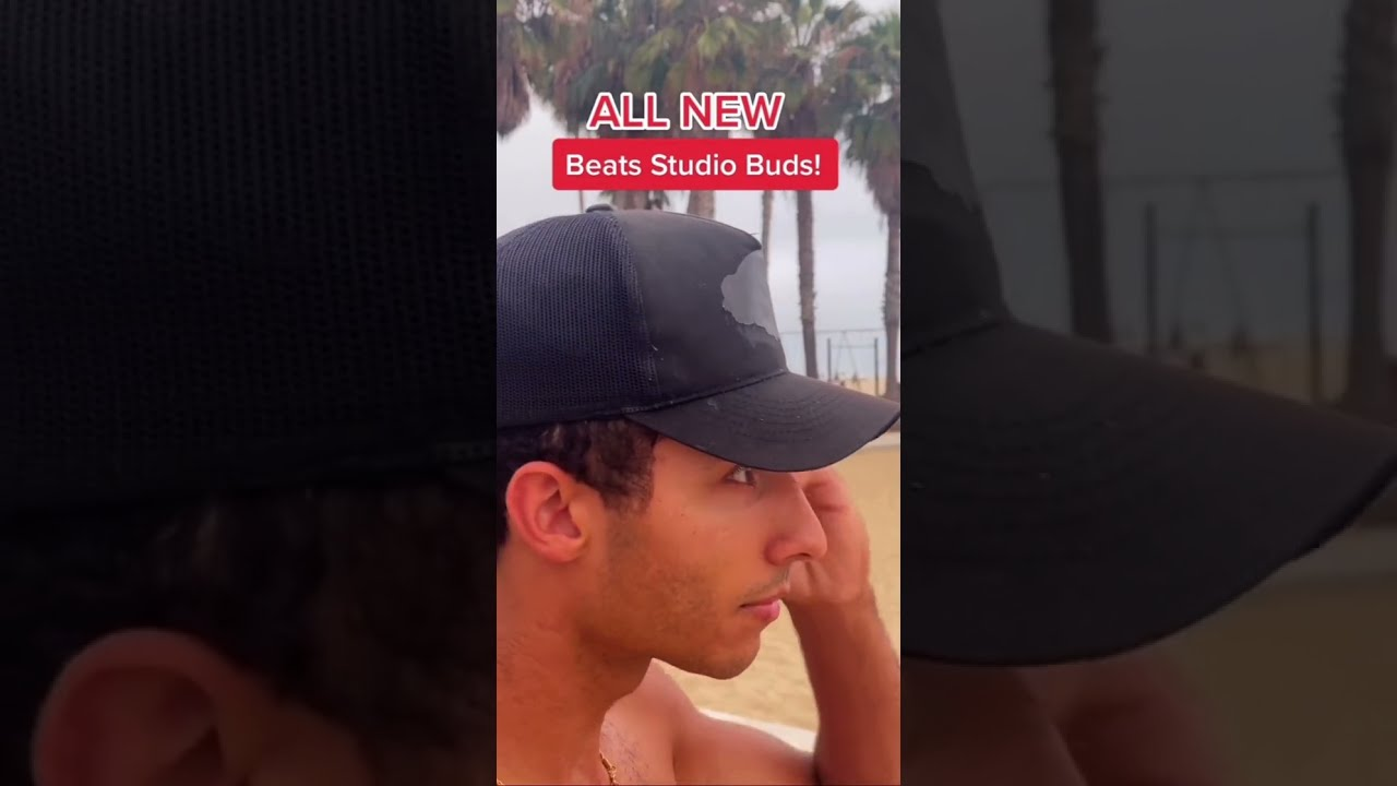WORKOUT ROUTINE WITH BEATS STUDIO BUDS #SHORTS