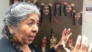 SWAIA 96th Annual Santa Fe Indian Market - Interview   Fannie Loretto Lucero Artist
