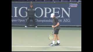 AIG OPEN 2008 3回戦 アンディ・ロディック VS ユルゲン・メルツァー
