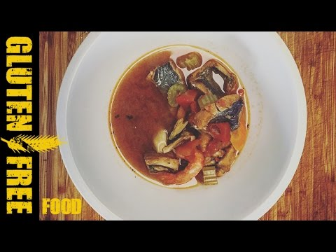 Slow cooker – Mediterranean fish stew – gluten free recipe