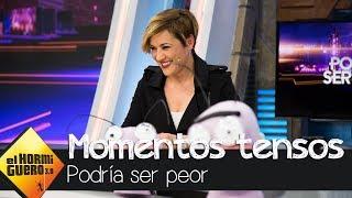 """Cristina Pardo revive los momentos más """"tensos"""" de Mamen Me..."""