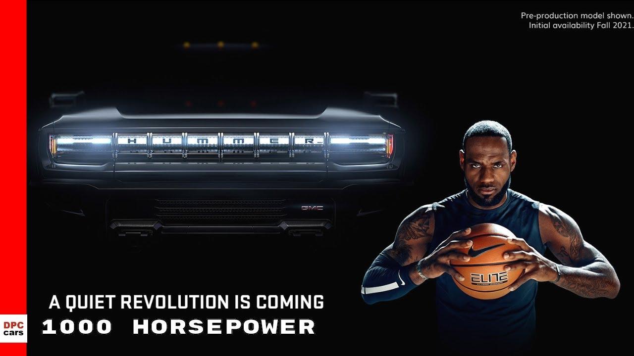 Super Bowl 2020: Hummer EV truck introduced by LeBron James in ...