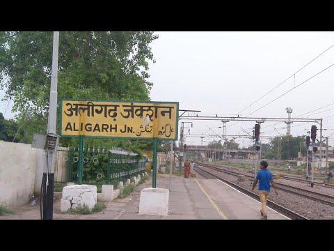 Aligarh junction!!12398 Mahabodhi SF express