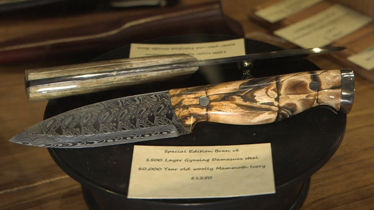 Mammoth Ivory Knife - Emberleaf Workshops