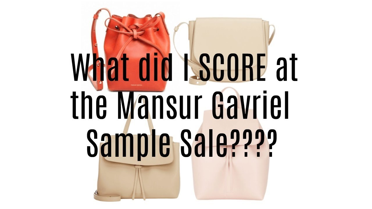 Mansur Gavriel Sample Sale 2018 Reveal L Bbh2 Youtube