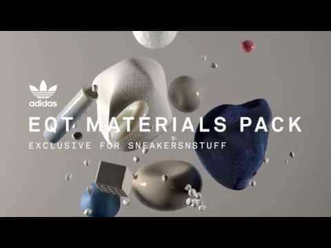 40abf3845a86 adidas Originals EQT Materials Pack – Exclusive for Sneakersnstuff ...