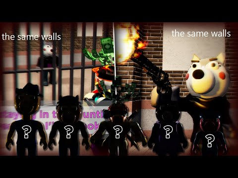 ROBLOX PIGGY WILLOW'S PRISON!! Who's going to get pewed??