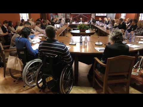 """Diskusija """"Saeima cilvēkiem ar invaliditāti"""""""