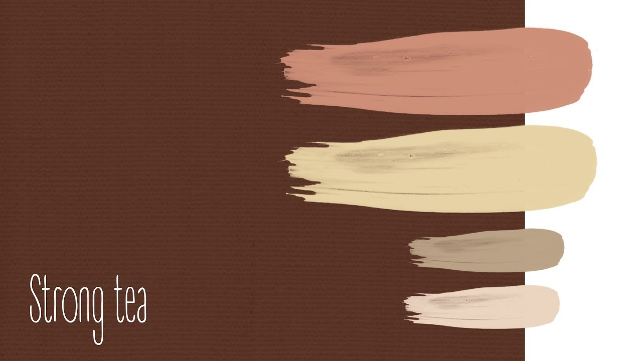 Beautiful combination of colors. Brown colors