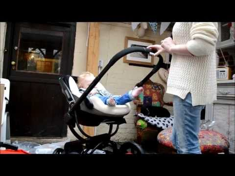 Quinny Moodd seat - Maxi Cosi Pebble car seat - YouTube