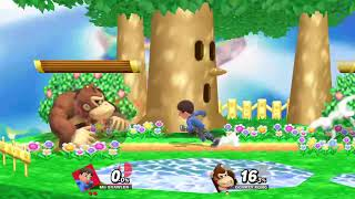 SSBU Replay 55 - Mii Brawler Vs. Donkey Kong