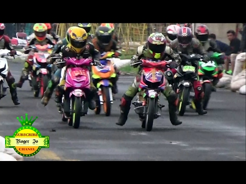 Road Race 2017 Honda Beat Rama Sukses Meninggalkan Lawannya Class